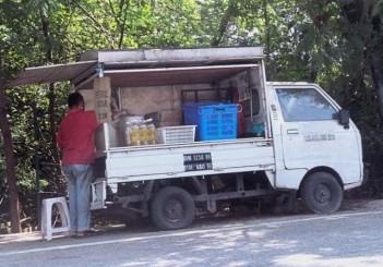 Bottled petrol