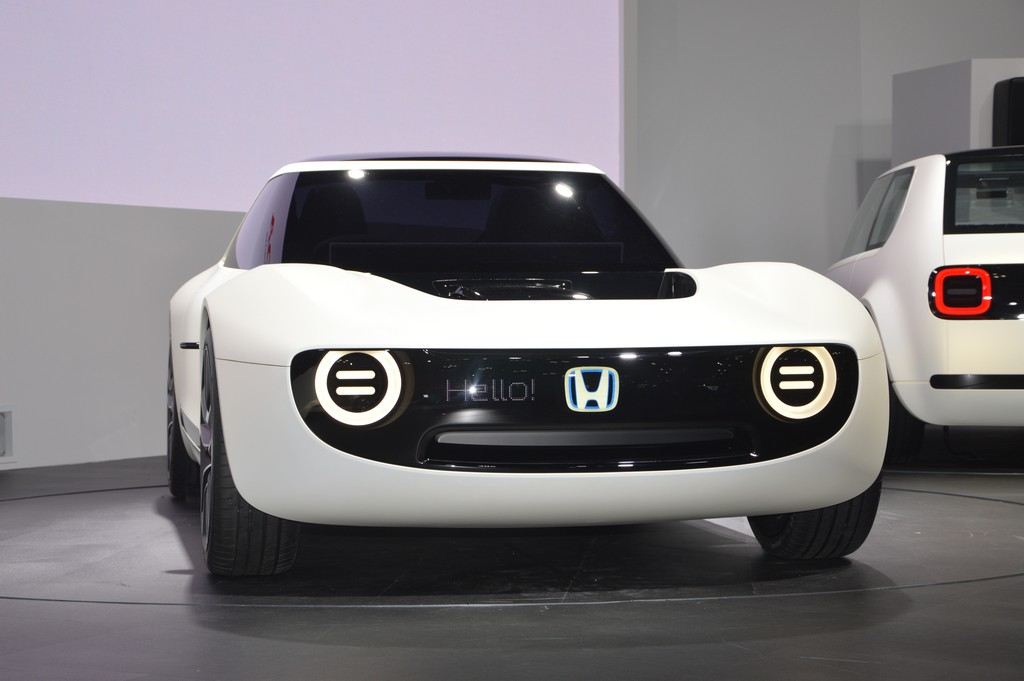 2017 Tokyo Motor Show Electrifying Honda Sports EV Concept  CarSifu