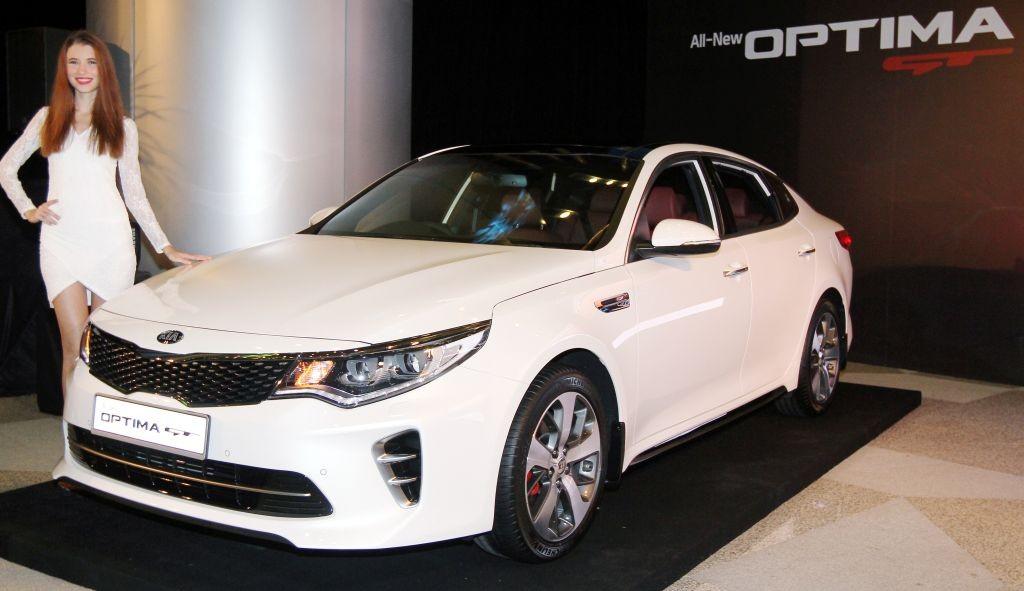 All New Kia Optima GT