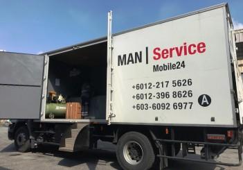 MAN mobile service workshop and MAN Mobile24 service - 01