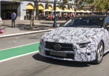 Third edition of Mercedes' CLS luxury saloon to roll out in LA