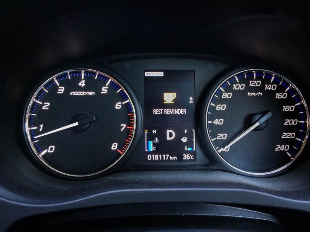 Mitsubishi Outlander 2.0 SUV - 02 Rest Reminder