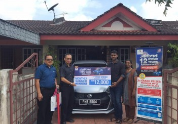 Myvi 12 Iconic Years Anniversary SMS and Win Contest - 01 Arvindren