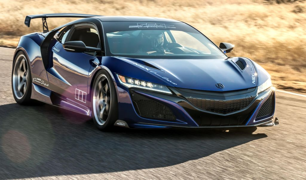 Acura to demonstrate science of sd with special SEMA NSX | CarSifu