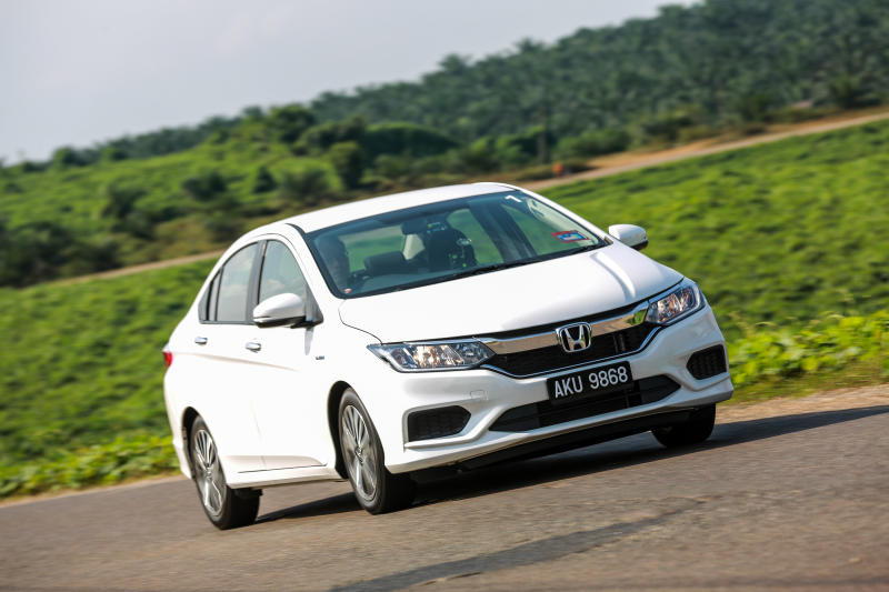 The Honda City Sedan Is Currently One Of The Most Popular Cars In The  Country And In July, Honda Malaysia Introduced Hybrid Versions Of The City  And The ...