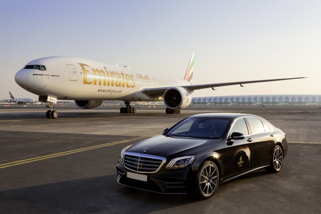 Internationale Markenkooperation von Mercedes-Benz und Emirates Airline: First Class fliegen – inspiriert von Mercedes-Benz