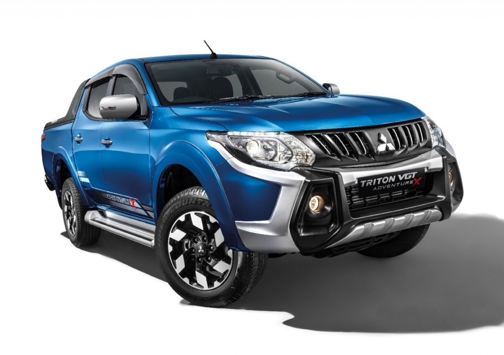 Mitsubishi - 01Triton VGT Adventure X new design with Sports Bar