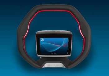 ZF reinvents the steering wheel for robot cars