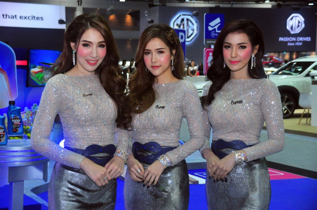 Thailand International Motor Expo (Babes) - 11