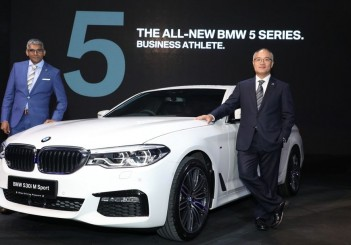 2017 - Launch of the BMW 530i M Sport