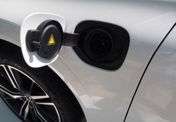 Electric charging port only in T8 XC60