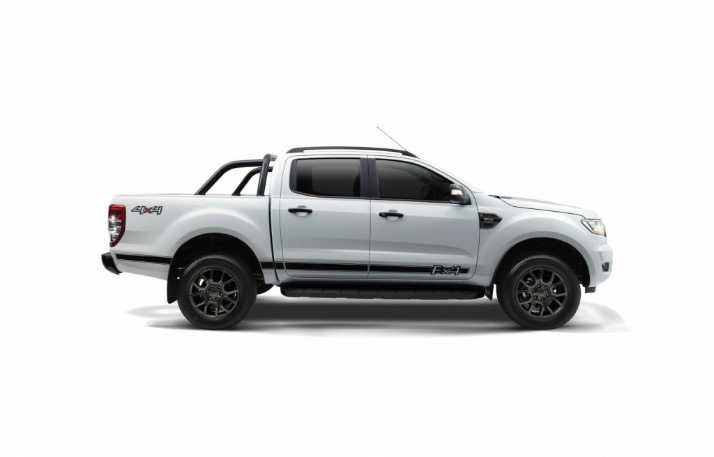 ford ranger pickup truck adds wildtrak  meteor grey  fx  cool white   lineup carsifu