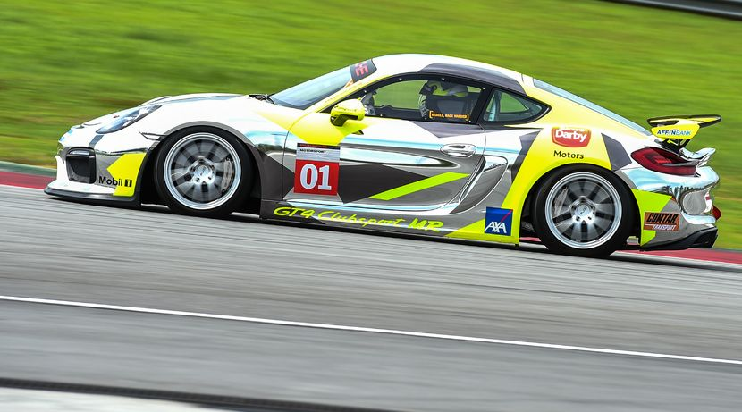 Polish Your Driving Skills At Cayman Gt4 Clubsport Racing Experience