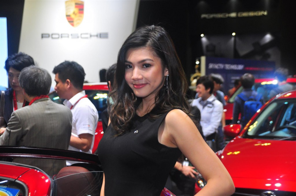 Singapore Motorshow 2018 - Chicks - 08