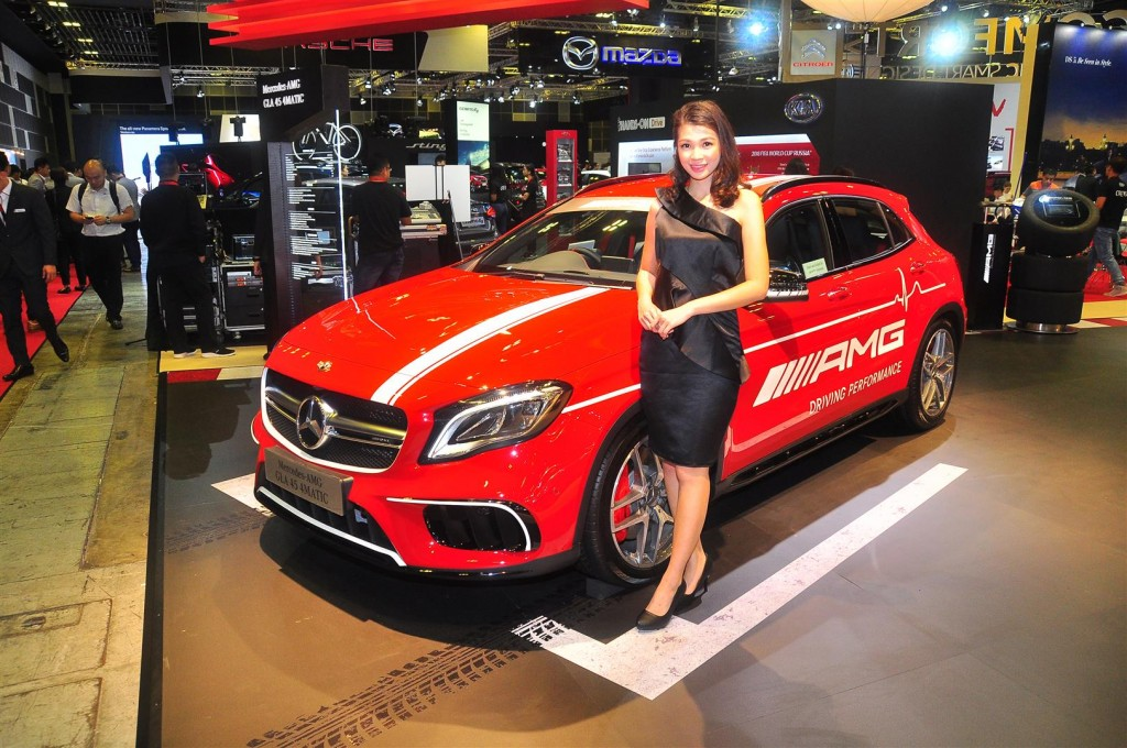 Singapore Motorshow 2018 - Chicks - 10