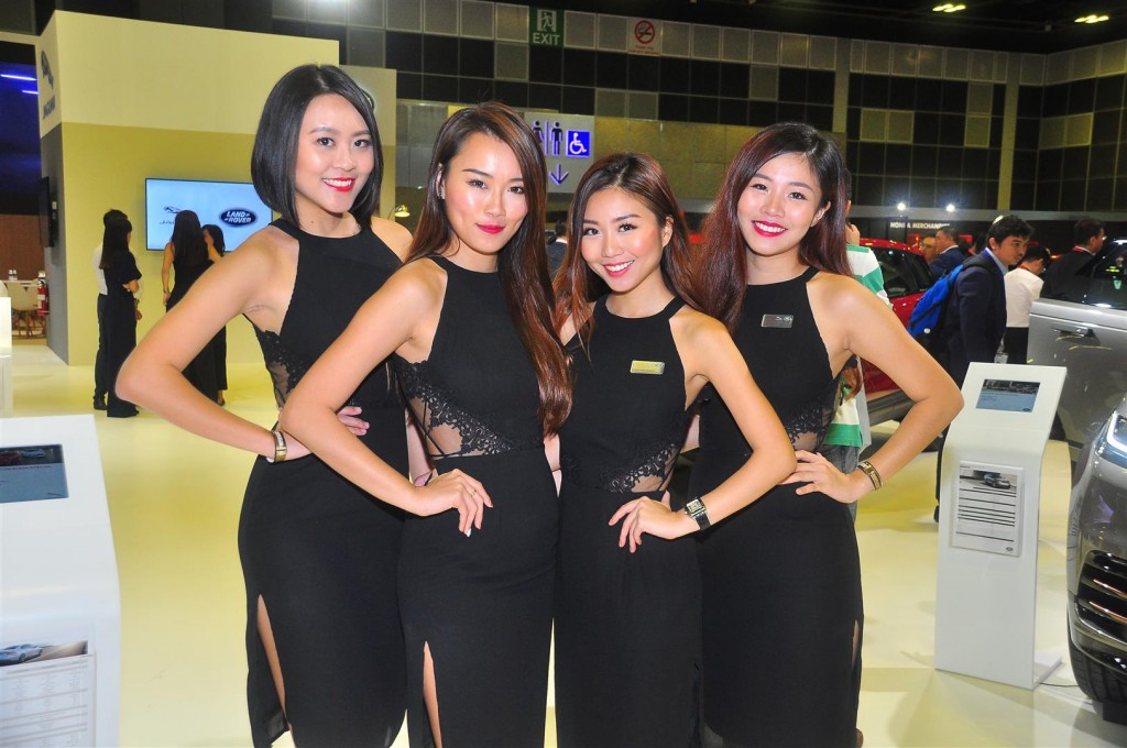Singapore Motorshow 2018 - Chicks - 14