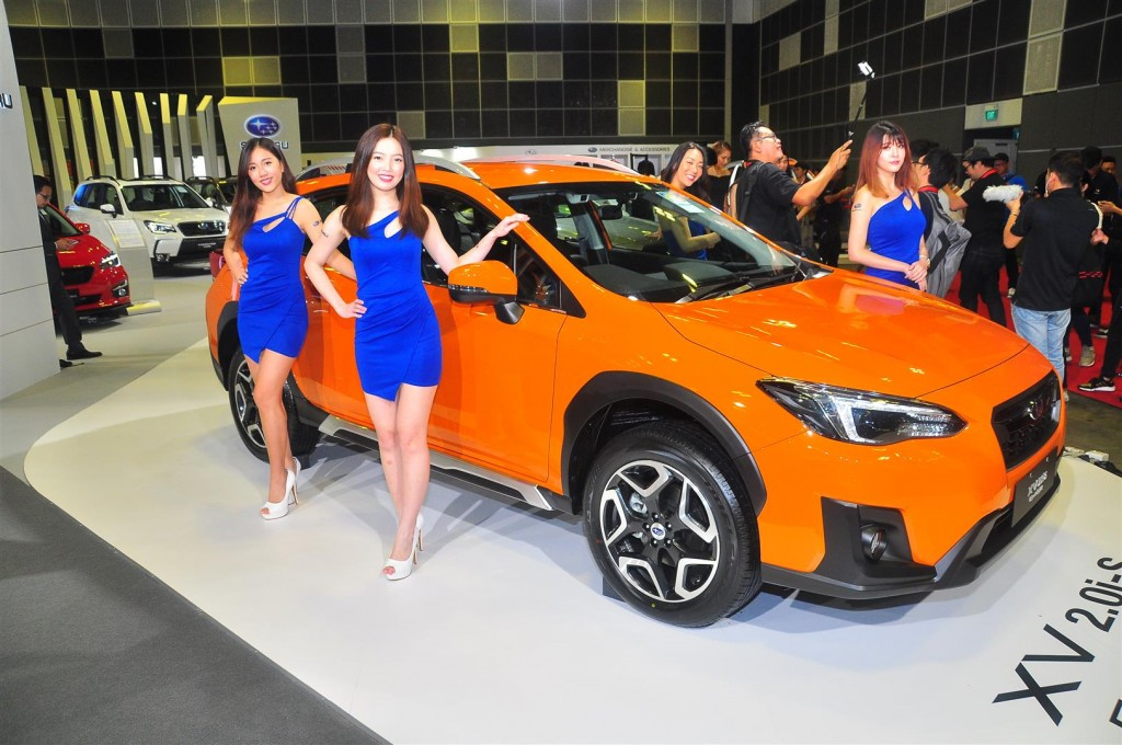 Singapore Motorshow 2018 - Chicks - 36