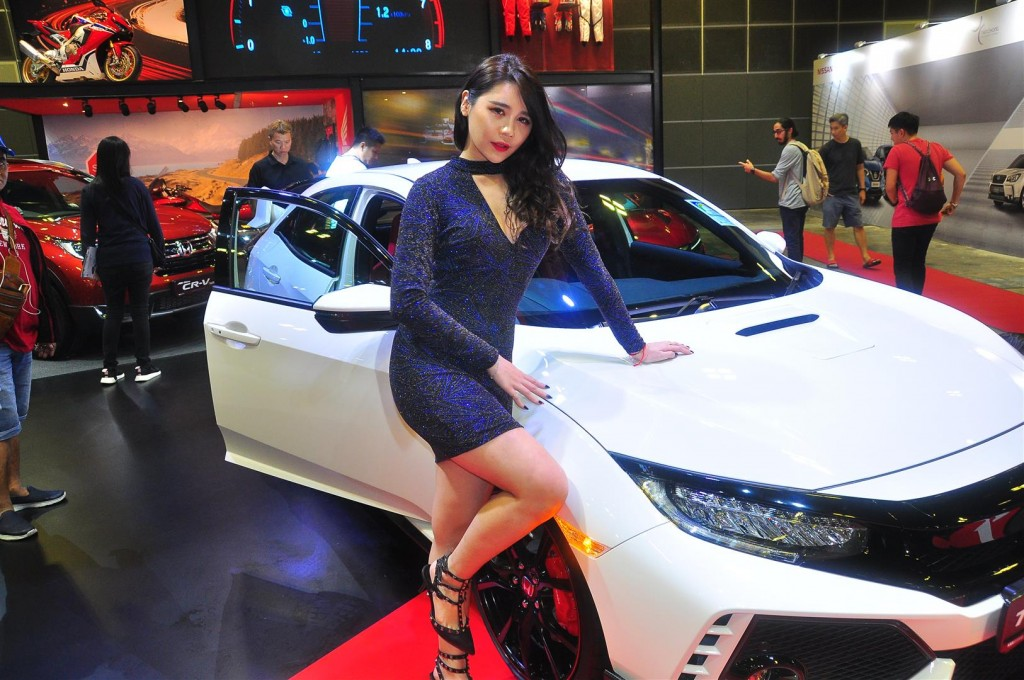 Singapore Motorshow 2018 - Chicks - 56