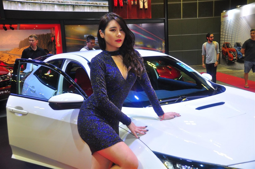 Singapore Motorshow 2018 - Chicks - 57