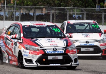 Toyota Vios Challenge action - 01