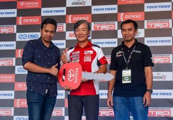 Winner takes home Toyota Vios SE