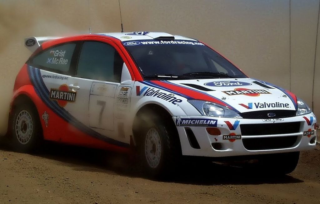 Colin McRae's 1999 Ford Focus WRC to be auctioned | CarSifu