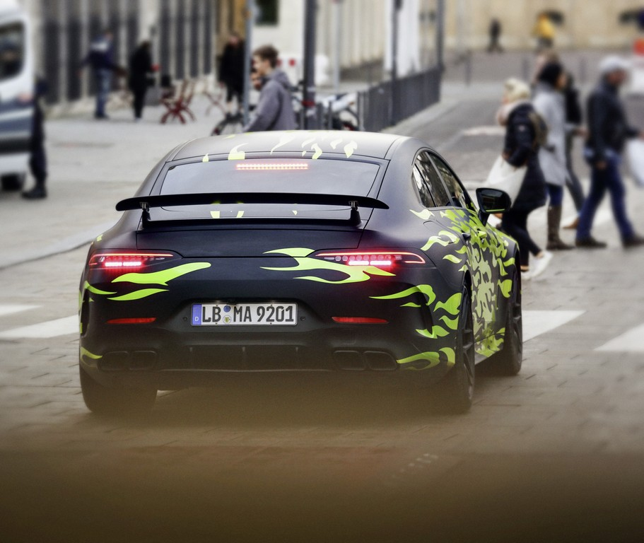 Four-door Mercedes-AMG GT Coupe Teaser