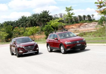 Hyundai Tucson 1.6 turbo vs VW Tiguan 1.4 HL - 01