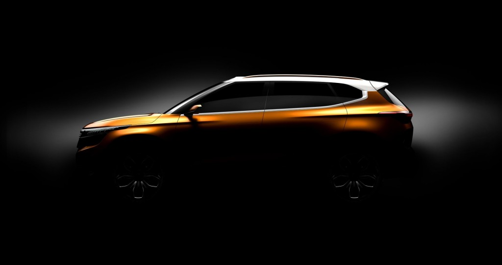 Kia To Show Off Sp Concept Suv At 2018 New Delhi Motor Show Carsifu
