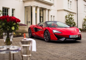 McLaren 570S Spider in Vermillion Red - 01