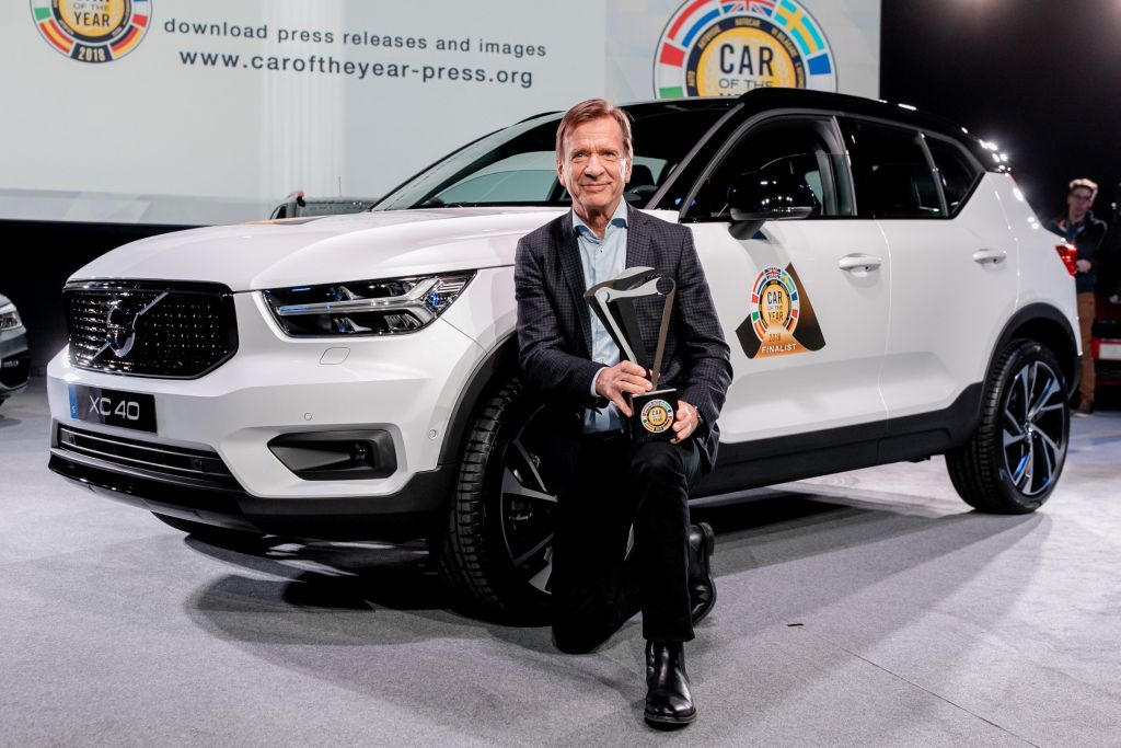 226140_Volvo Car Group President & CEO Håkan Samuelsson at the European Car of the