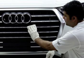 Audi at Aurangabad site