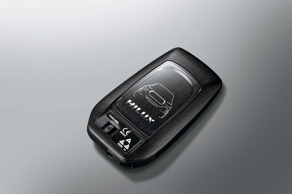 Hilux LE smart key_02 (Custom)