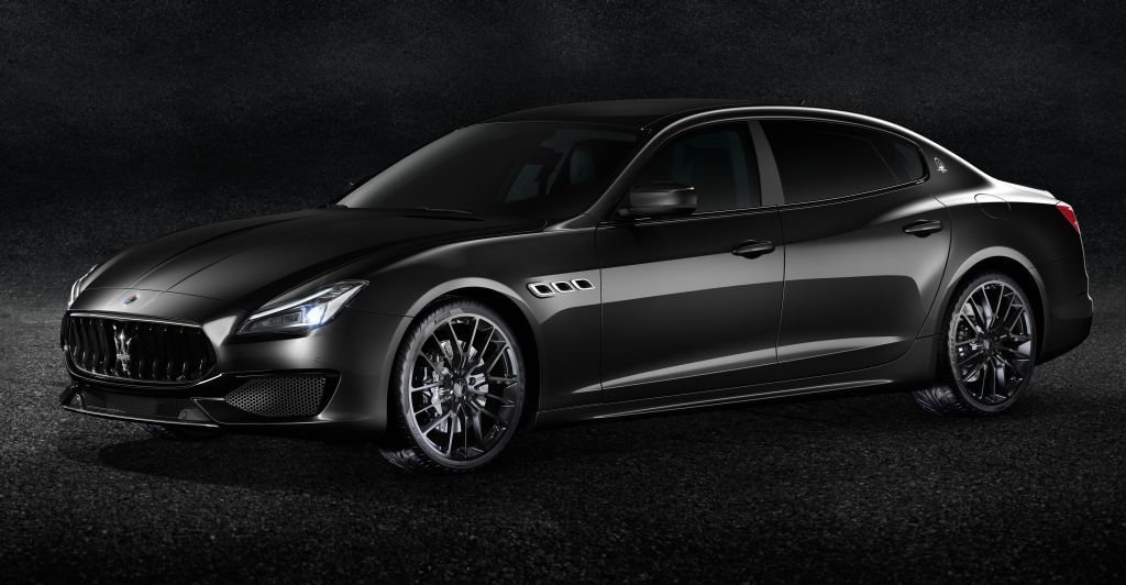 Maserati ebony