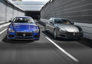 Maserati Ghibli (2018) GranLusso (R) and GranSport - 02