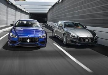 Maserati Ghibli (2018) GranLusso (R) and GranSport - 02