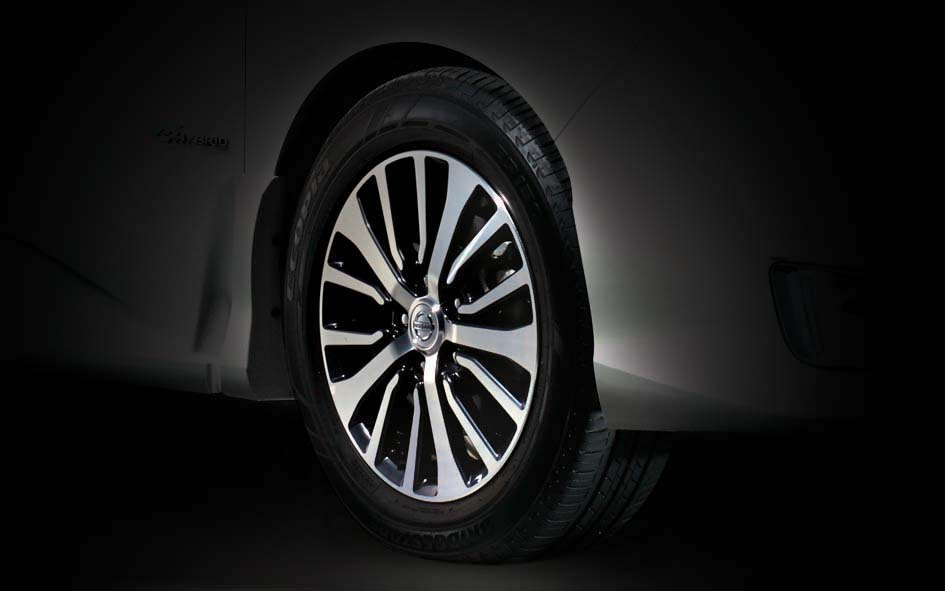 16-inch alloy wheels.