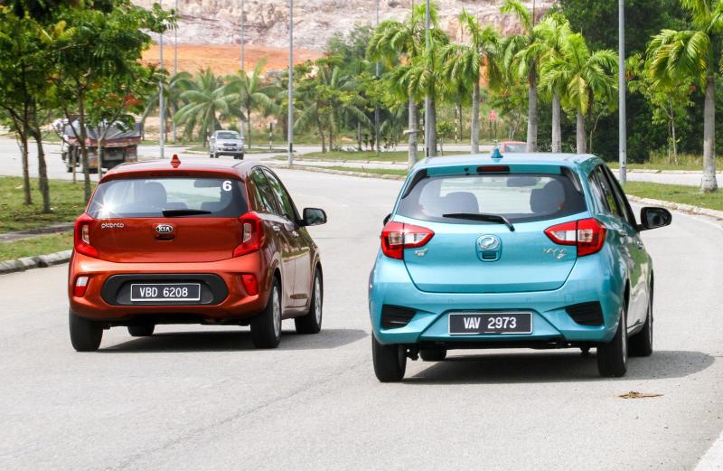 2018 Perodua Myvi vs Kia Picanto (1)