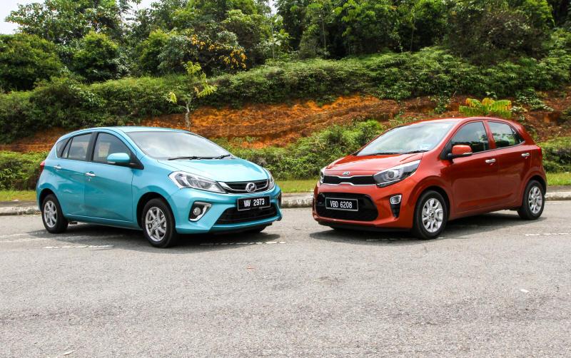 2018 Perodua Myvi vs Kia Picanto (2)