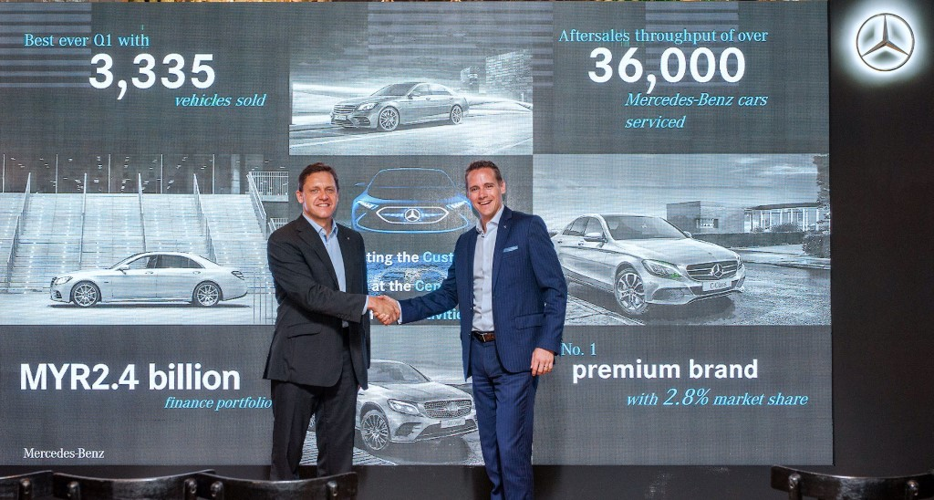 Mercedes benz malaysia record q1 sales of 3 335 vehicles for Mercedes benz salesman requirements