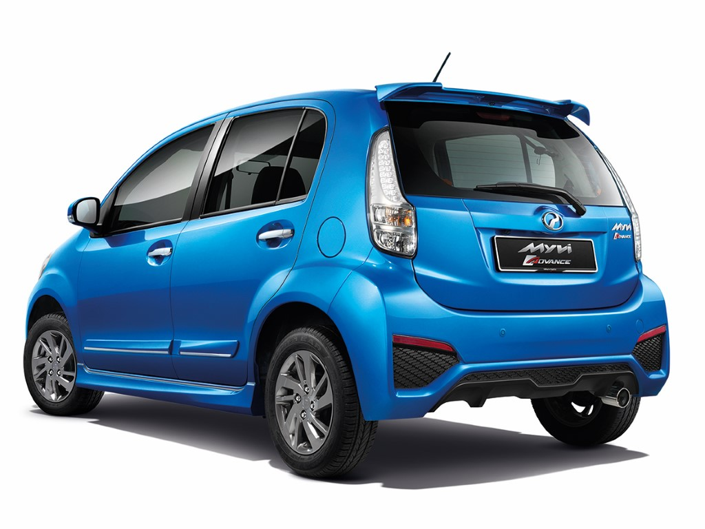Second-generation Perodua Myvi 2 (Custom)
