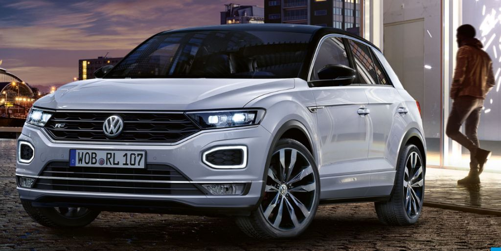 vw releases sporty t roc and tiguan allspace r line variants carsifu. Black Bedroom Furniture Sets. Home Design Ideas