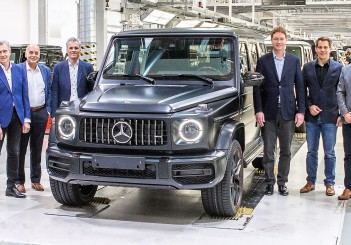 Mercedes-Benz G-Class production begins at Magna Steyr in Austria