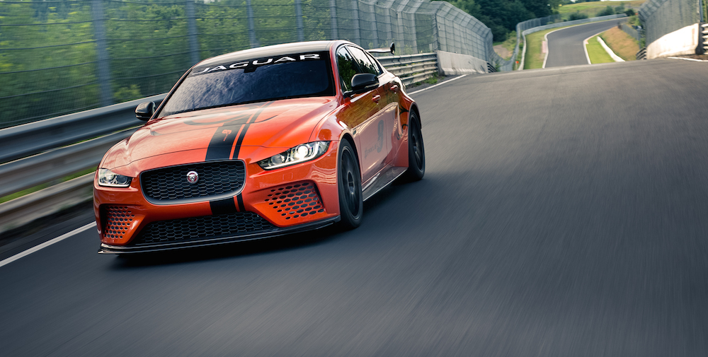 Jaguar Close To Finishing Fine Tuning Of Xe Sv Project 8 Carsifu