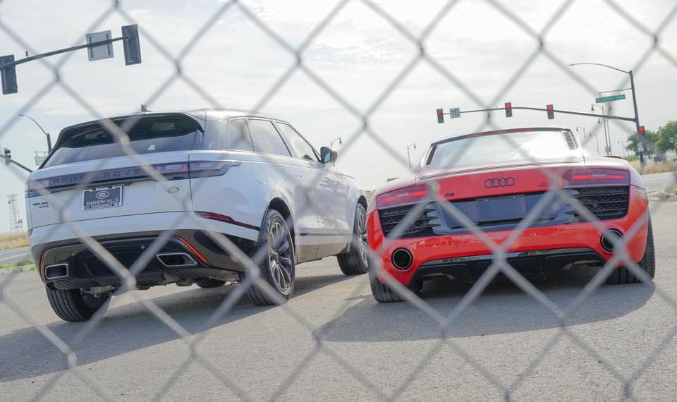 Nan Lin's Velar and R8 V10.