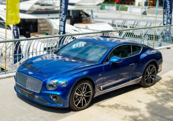 Bentley Continental GT First Edition with Princess Yachts