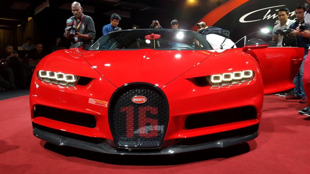 Bugatti Presents Chiron Sport In Malaysia Carsifu