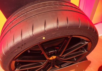 Special Michelin tyre made for Pista
