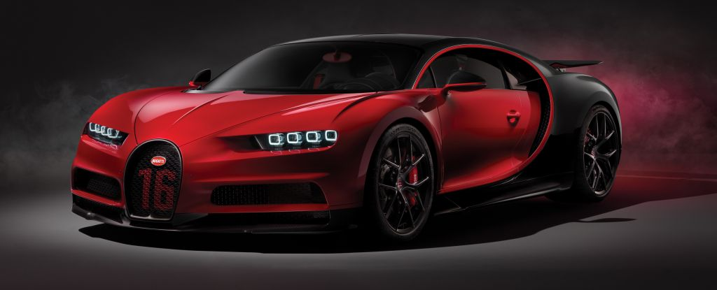 The Chiron Sport.