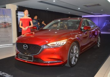 2018 updated Mazda6 2-5 litre petrol sedan (43)